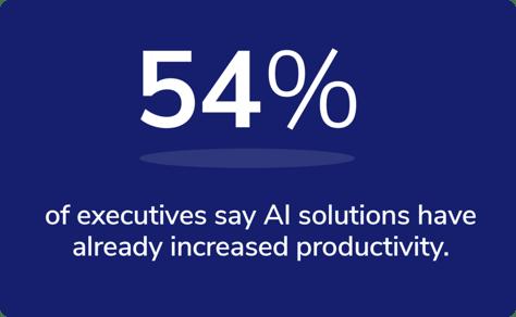 AI increase in productivity