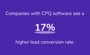 CPQ software stats
